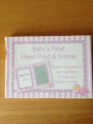 Baby's First Hand Print