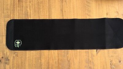 Belly Bandit Black Bamboo Wrap Post Pregnancy Body Shaper Support Size Small