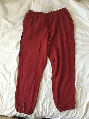 atmosphere red trousers size 18 (other listings asos curve new look etc)
