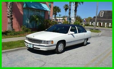 Cadillac DeVille Base 4dr Sedan 1996 Base 4dr Sedan Used 4.6L V8 32V Automatic FWD Sedan Premium