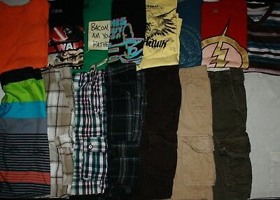 Boys Size 10 Spring/Summer Clothing Lot Of 16 Pieces ( Name Brands )