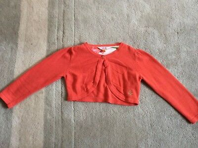 Ted Baker Girls Cardigan Age 3-4 Years