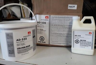 AmericanBiltrite AD-535 Epoxy Adhesive Kit ~ 3.7 Liters (0.98 US Gallons)