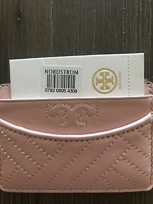 NEW  Tory Burch pink card holder