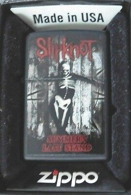 Slipknot ZIPPO Lighter 2015 Summers Last Stand Limited Edition Sealed NEW