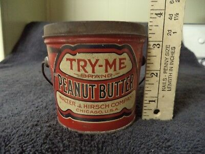 Try-Me Peanut Butter Tin