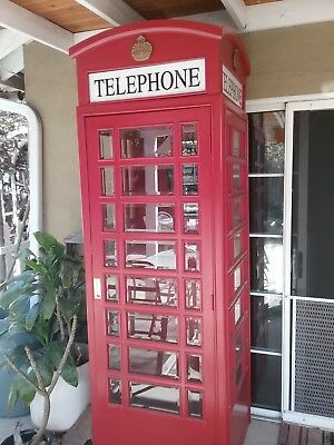 """replica english phone booth29"""" by 29"""" by 90"""" tall"""