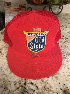 Vintage Heilemans Old Style Snap Back Hat