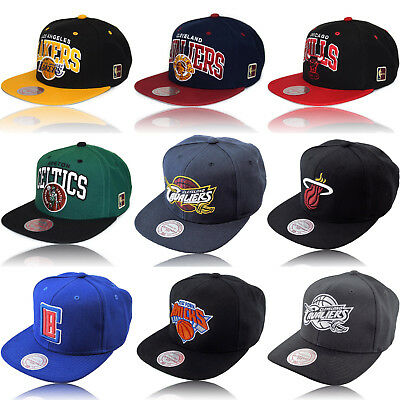 Snapback Baseball Cap Mitchell & Ness NEW NBA Chicago Bulls Lakers Cavaliers