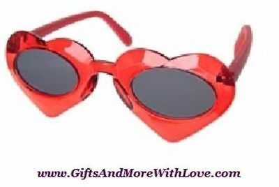 Gymboree NWT Red FULL OF HEART LOVE GEM SUNGLASSES 0 1 2 4 5 6 7 8 9 10 11 12 Y