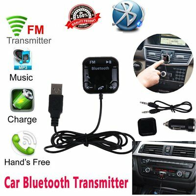 Bluetooth Magnetic FM Transmitter Car MP3 Player Handsfree Kit USB Charger SD FG