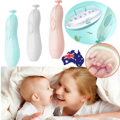 Baby Automatic Nail Trimmer Safe Baby Nail Clipper Baby Nail Set Painless CO