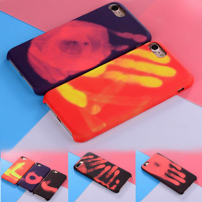 Fashional Heat Induction Phone Cover Thermal Sensor Case for iphone 8 7 6s Plus