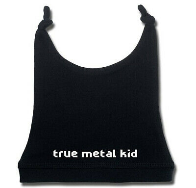 True Metal Kid Baby Hat Infant Kids Boys Girls Colours Blue White Black Pink
