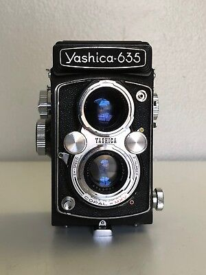 Yashica 635 double format TLR Camera - Great condition!