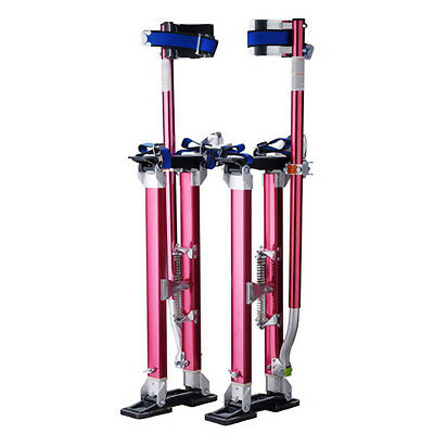 """Professional 24""""-40"""" Red Drywall Stilts Tool to Install Sheetrock & Drywall"""