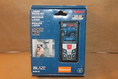 Bosch GLM 52 Laser Measure Rotating Color Screen 5 modes