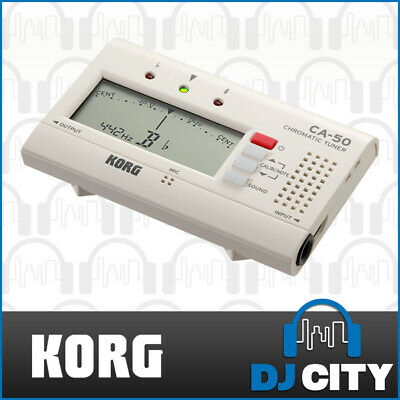 Korg CA50 Digital Chromatic Tuner Instrument Brass String Woodwind Vocal Tester