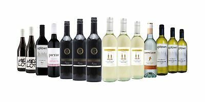$89 Delivered 14x750ml Red Wine & White Mixed RRP$249 FreeShipping