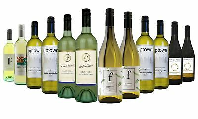 $89 Delivered White Wine Mixed 12x750ml Free Shipping RRP$189
