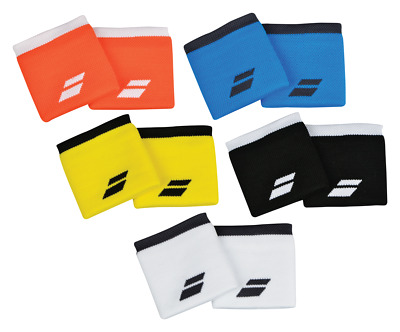Babolat Logo Wristbands Sweatbands Wrist Bands - Unisex - One Size - Free UK P&P