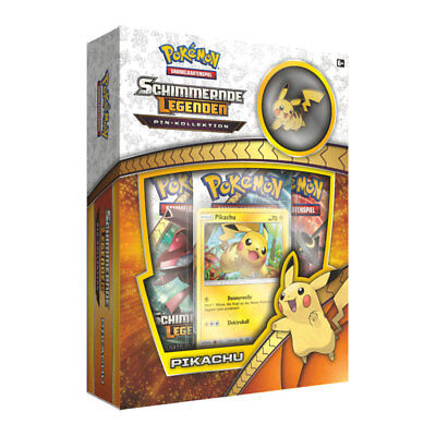 Pokémon - Schimmernde Legenden - Pikachu Pin-Kollektion - deutsch