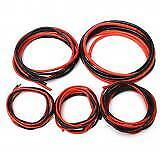 2M AWG Soft Silicone Flexible Wire Cable 12-20 AWG (1Meter Red+1Meter Black) New