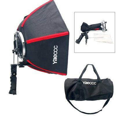 """YaeCCC 20"""" Collapsible Hexagonal Softbox with Hand Grip for Speedlights Hot New"""