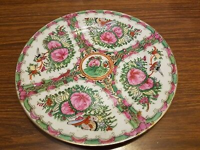 Beautiful Chinese Famille Rose Plate