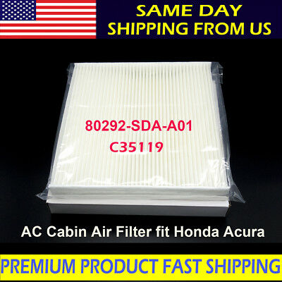 For HONDA ACCORD CABIN AIR FILTER Acura Civic CRV Odyssey C35519 OE QUALITY