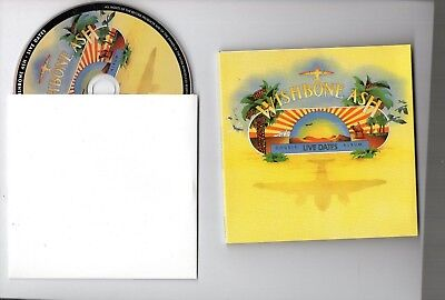 NEW 2018 ⌂ WISHBONE ASH CD ⌂ LIVE DATES 1973 (limited & remastered)