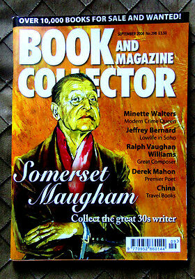 Book And Magazine Collector 298 Somerset Maugham September 2008 Pristine