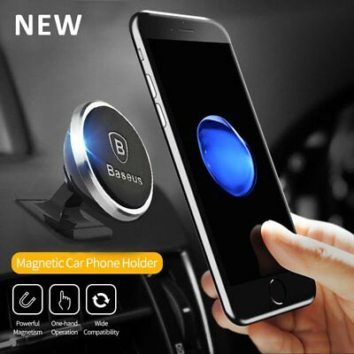 Baseus Universal Magnetic Mount Car holder For iPhone X 8 Plus 6s 7 Samsung CO