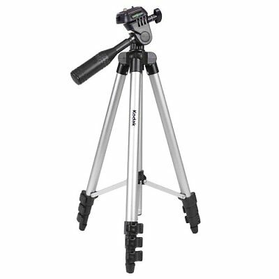 50 Inch Kodak TR501 Superior Control Camera Tripod 3 Way Pan Head Bubble Level