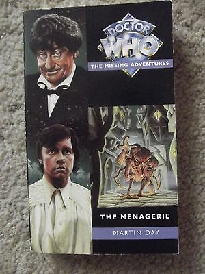 The Menagerie by Martin Day - Doctor Who Missing Adventures