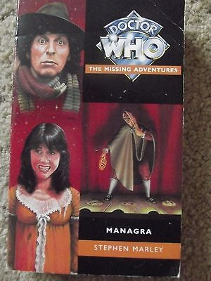 Managra by Stephen Marley - Doctor Who Missing Adventures
