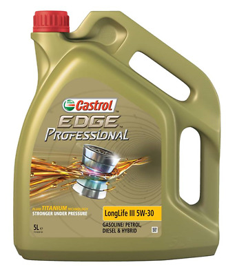 Castrol Edge Longlife 5W-30 Vw50400/Vw50700 **New 5 L Bottle**