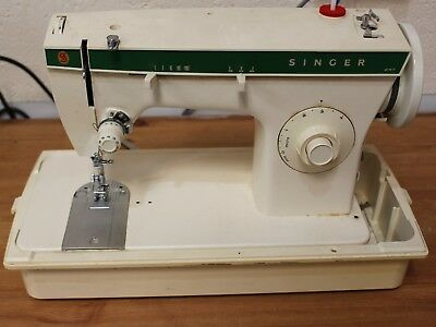Singer 247 Electric Sewing Machine with Case - 250