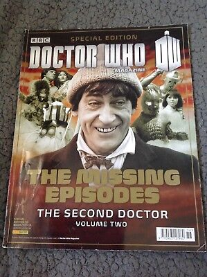 Doctor Who Magazine Special Missing Episodes 2nd Doctor Vol-2