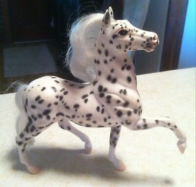 Vintage  Reeves Breyer Horse PONIES - LEOPARD APPALOOSA Brushable Mane and Tail