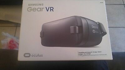 Samsung Gear VR SM-R323 Oculus Virtual Reality S6, S7, S8, S8+ Note5 Blue Black