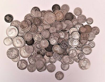 Large collection of British pre-20 silver coins Victoria, Edward etc 1.146kg