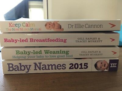 Patenting Books, Baby Led Breastfeeding / Weaninng, New Mum's Manual, Baby Names