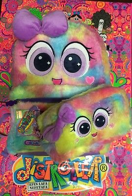 Ksimerito nEOnaTo FuRrY BaCKpaCk and pencil bag by Distroller