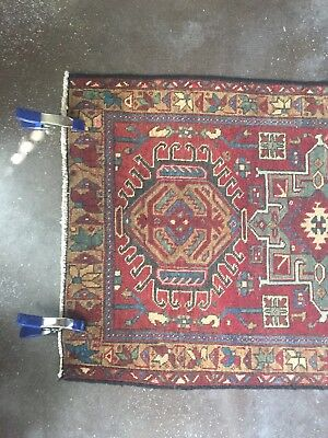 VINTAGE Hand-Knotted Persian Rug 2.7 x 4.4