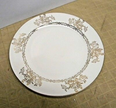 "Edwin Knowles ""Classic Satin"" Lunch/Salad Plates 8 1/4"" ~ Set of 4 ~ EUC"