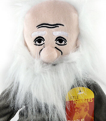 Charles Darwin soft toy - Little Thinkers Doll