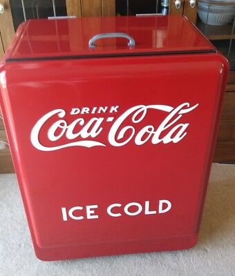 New!  1930's 1940's Replica American Retro Coca Cola Junior Coke Machine