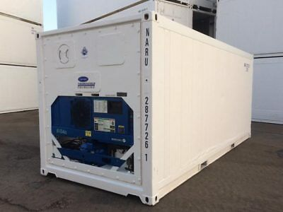 20 Feet Freezer Container Compact Mobile Cold Storage Cell Reefer Container