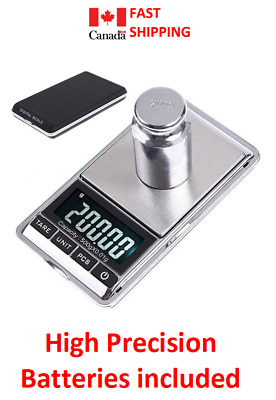 Digital Pocket Mini Scale 500g/0.01g Jewelry Gold Silver Coin Grain Gram Herb...